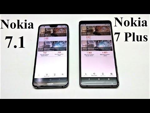 Nokia 7.1 vs Nokia 7 Plus - BENCHMARK COMPARISON