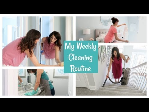 My Weekly Cleaning Routine | How I Clean My House