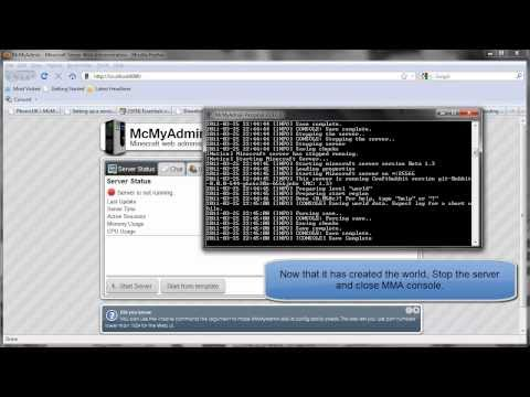 How to Create a Minecraft Server with McMyAdmin, Bukkit, Essentials, and Dynmap