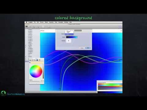Mac Grapher: Customizing Graphs