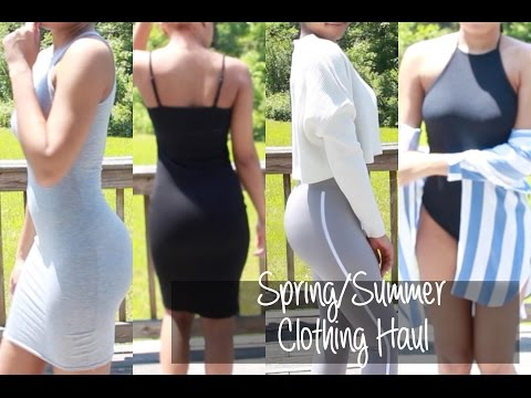 TRY-ON Spring/Summer 2016 Clothing Haul | Missguided , Asos , Boohoo