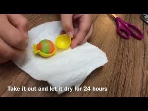 How to make a power ball (bouncy ball) steps