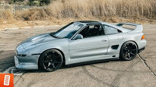 Building a Toyota MR2 in 15 minutes!