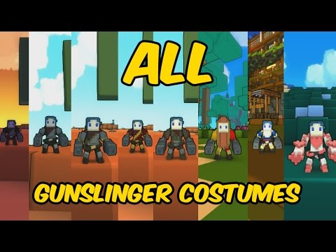 All Gunslinger Costumes in Trove