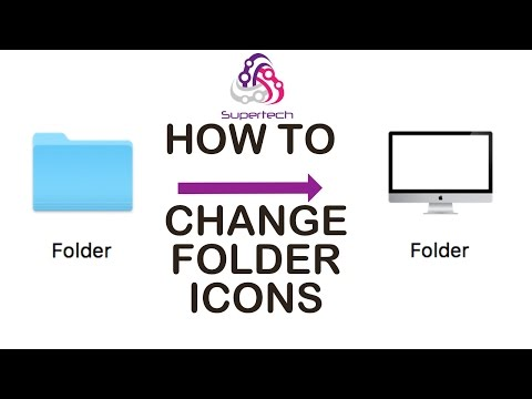 How to Change Icons on Folders on mac