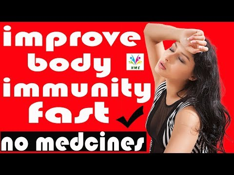 How To Improve Body Immunity Fast in Hindi | Without Medicines | Simple Method | Fast Results