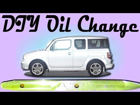 Oil Change: Honda Element | Oil & Filter Change | DIY | How-to | Easy