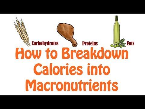13. How to Breakdown Calories in Macronutrients