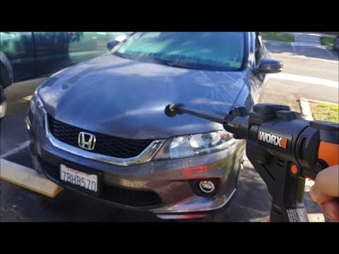 [Review and Demo] Worx Hydroshot for Car Detailing