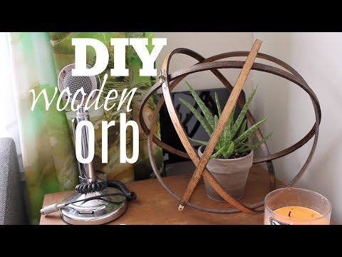 DIY Wooden Orb