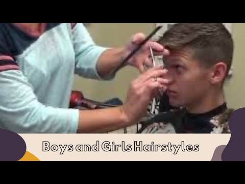 How To Give A Cool Haircut to a (Mens Short Hairstyles)