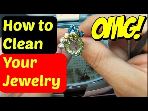 How to Clean Vintage Costume Jewelry - Jewelry Cleaning Tutorial