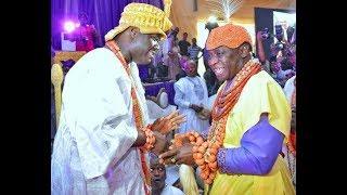Olu of Warri,Ogiamen Storm In Style As He Sit Beside Ooni Of Ife @ Alaafin Oyo 80th Birthday