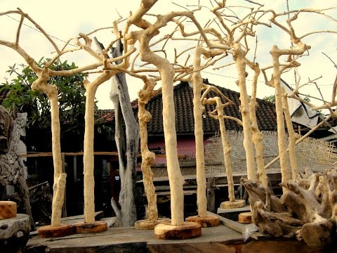 Java Coffee Wood Bird Stands and Perches