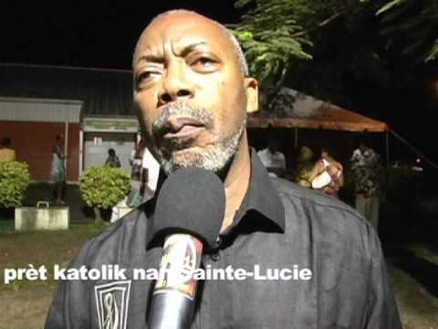Créole à Sainte-Lucie