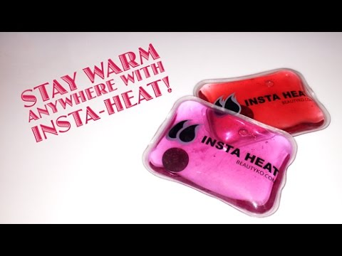 How To Use InstaHeat To Keep Your Hands Warm