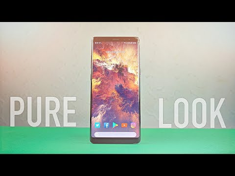 Samsung Galaxy Note 8 Android 8.0 Oreo LOOK!!!