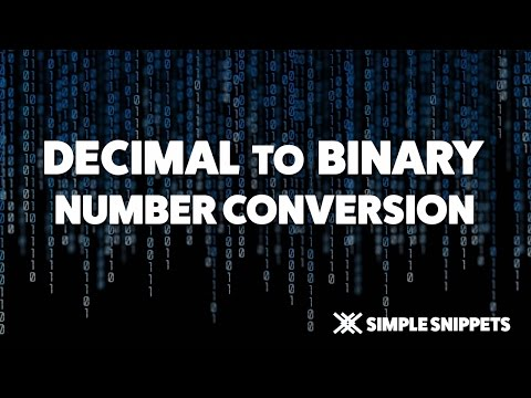 Decimal To Binary Number Conversion with Decimal Point | Number System Conversions