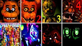 50+ JUMPSCARES Five Nights at Freddy