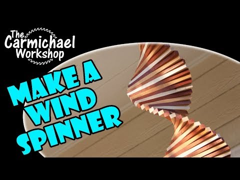Make a Wind Spinner - Easy Weekend Woodworking Project