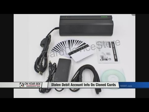 Account Numbers Stolen And Debit Cards Cloned
