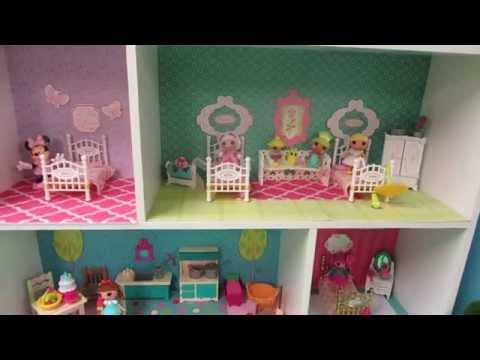 DIY Dollhouse for Mini Lalaloopsy Dolls from a Closetmaid Mini Cubeical Organizer