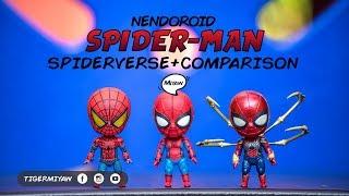 Comparison Nendoroid Spider-Man | Unbox, Play, Review