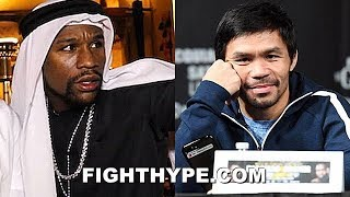 Download MAYWEATHER KILLS PACQUIAO REMATCH RUMOR ABOUT SAUDI ARABIA TALKS: ″OLD ...NEVER BE A REMATCH″ Video