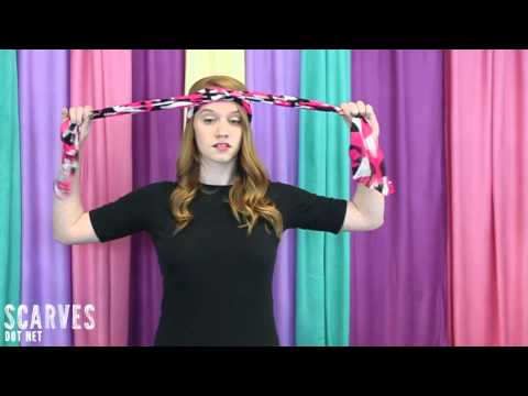 How to Tie a Head Scarf: A Knot in My Hair