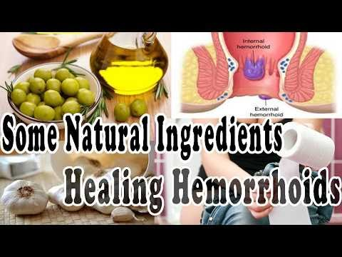 Some Natural Ingredients Healing Hemorrhoids | Health 24/7