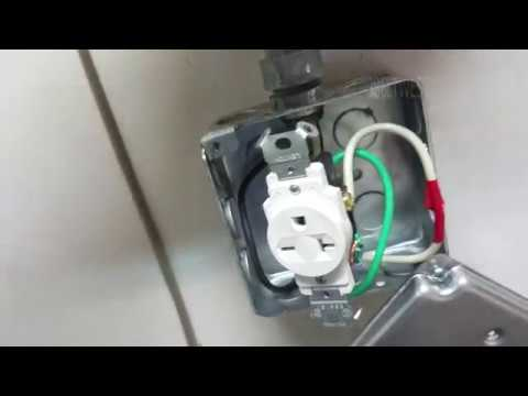 240 volt socket Ground pin up or down ? 6 20R Nema Receptacle