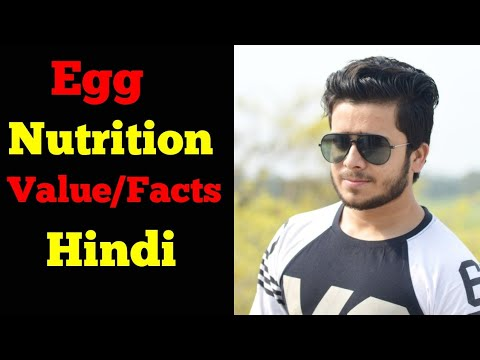 Complete Egg Nutrition Value/Facts in Hindi 2018   Egg Nutrition Facts Hindi  Skyking Health