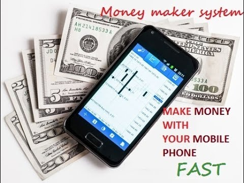 Make money fast with your smartphone online