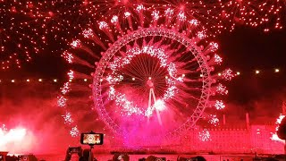 London New Year Eve Fireworks 2018