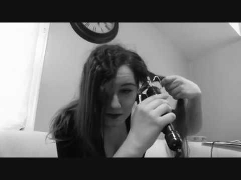 The Basics - Marcel Waves with a Curling Iron