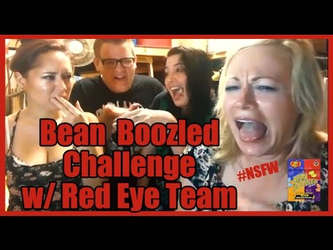 The Gross Out, Bean Boozled Jelly Bean Challenge vs. Scream Queen Stream & Red Eye Team