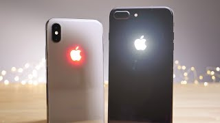 Glowing Apple Logo on iPhone X & 8 Plus! Sexiest Mod Ever