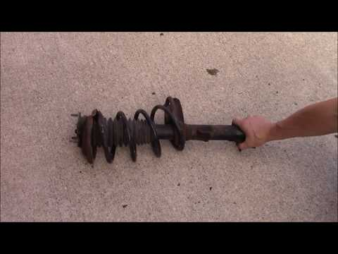 2000 to 2005 Ford Focus front strut assembly replacement