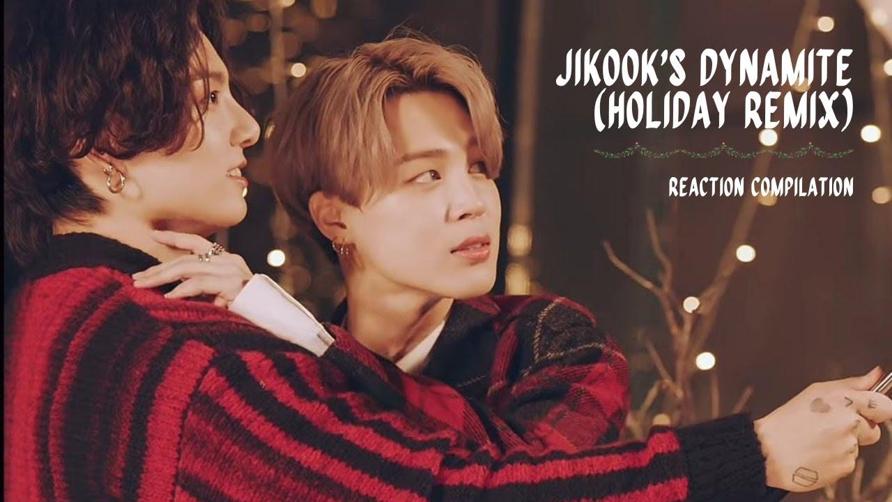 Download BTS 'Dynamite' Holiday Remix ( Jimin-Jungkook / Jikook's cut ) | Reaction Compilation MP3 Gratis