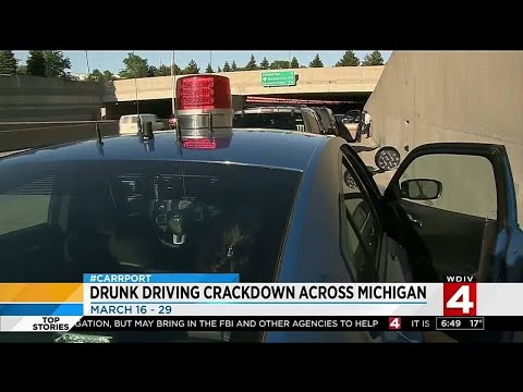 Michigan State Police crack down on drunk driving for St. Patrick's Day