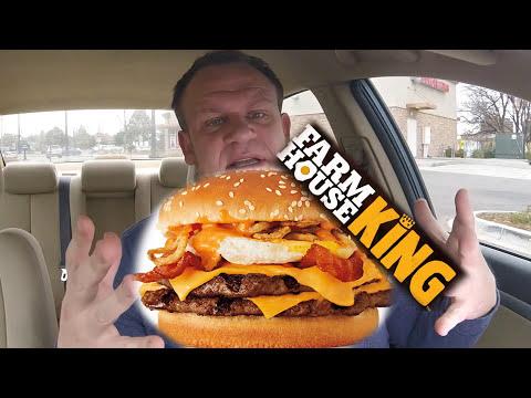 BURGER KING ☆FARMHOUSE KING☆ Food Review!!!