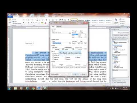 Shift key + function (F1 to F12) keys in word 2010
