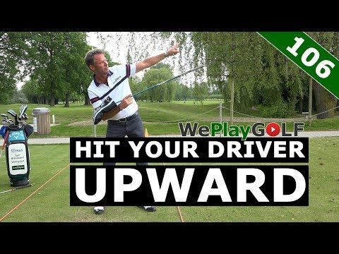 Golf tip: How to hit upward with your driver