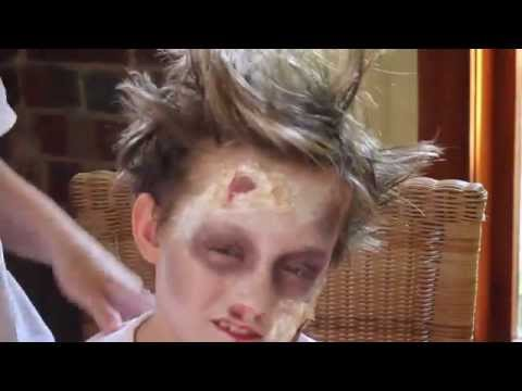 DIY REALISTIC ZOMBIE MAKEUP WITHOUT LATEX | Piper Besley