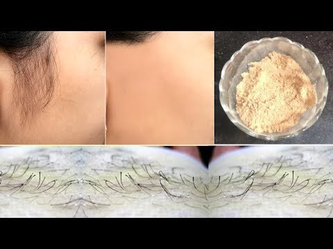 Facial Hair Removal Powder | Remove Unwanted Hair Naturally & PERMANENTLY | 100% Effective
