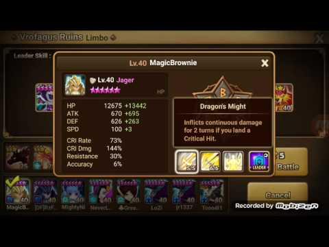 Summoners War | Test | Light Dragon Knight - Jager