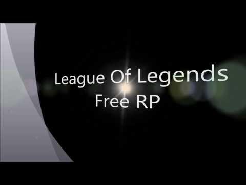 League Of Legends Free RP (no survey)