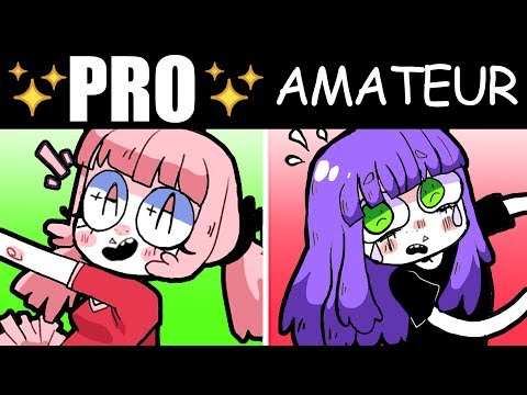 THE 5 BIGGEST DIFFERENCES BETWEEN PRO ARTISTS and AMATEURS [+How to Make Art your JOB]