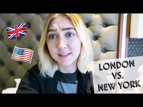 LONDON VS  NEW YORK
