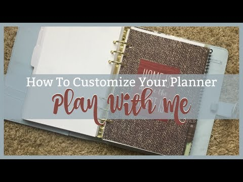 HOW TO MAKE YOUR OWN PLANNER | A5 RING BOUND PLANNER